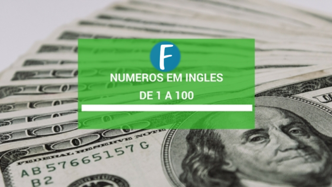Numeros em ingles - De 1 a 100