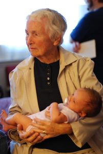 grandmother-grandaughter She was called after her grandmother.