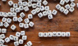 não se preocupe muito com a gramatica