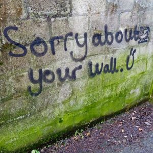 sorry-wall