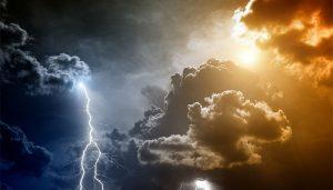 tipos de tempo clima em ingles