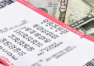 lottery ticket (Bilhete de loteria