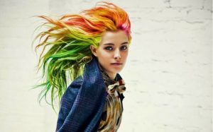 cores de cabelo em ingles