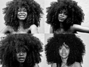 black power haircut hair afro
