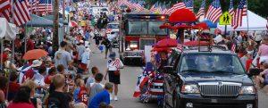 4th of july parade (Desfile de 4 de julho)
