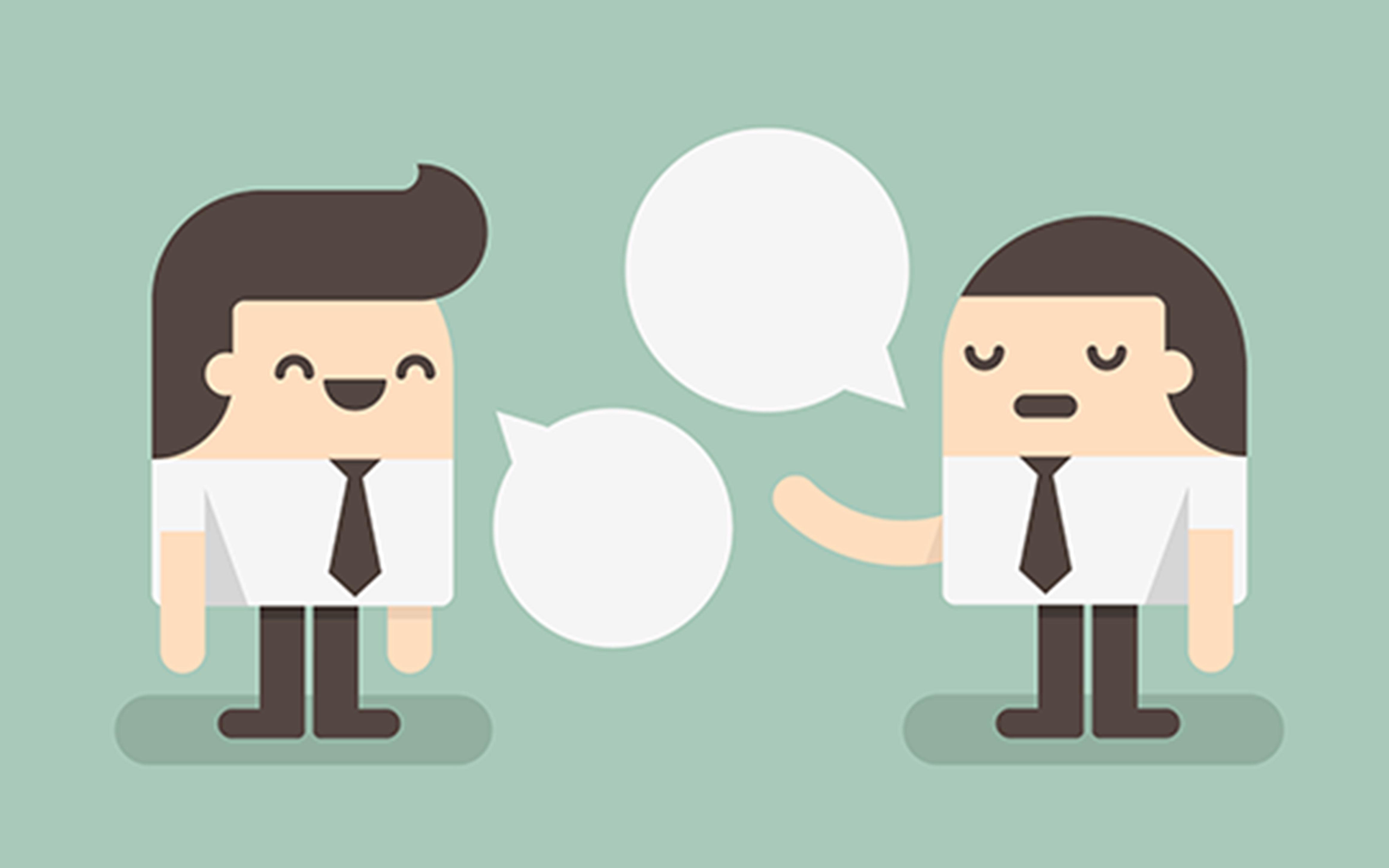 O que significa talks em inglês
