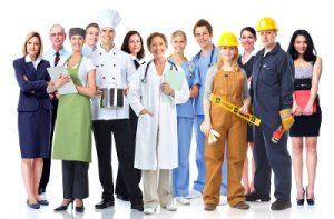 Several professionals (Diversos profissionais)