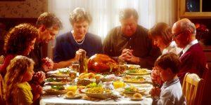 Thanksgiving dinner (Jantar de ação de graças)