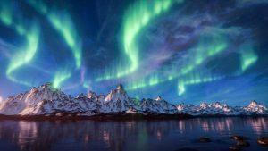 Northem lights (Aurora Boreal) malibu
