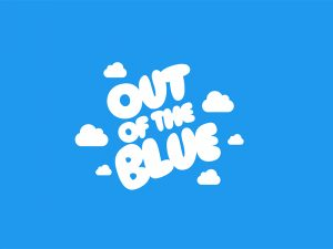 out of the blue significado
