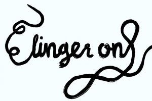 linger on